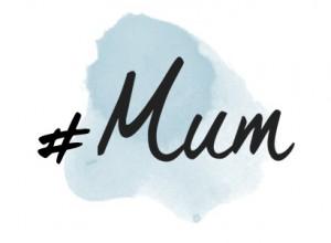 Logo Hashtag Mum