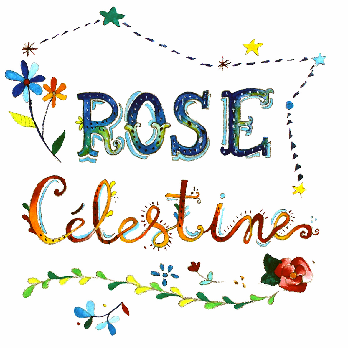 rose célestine logo