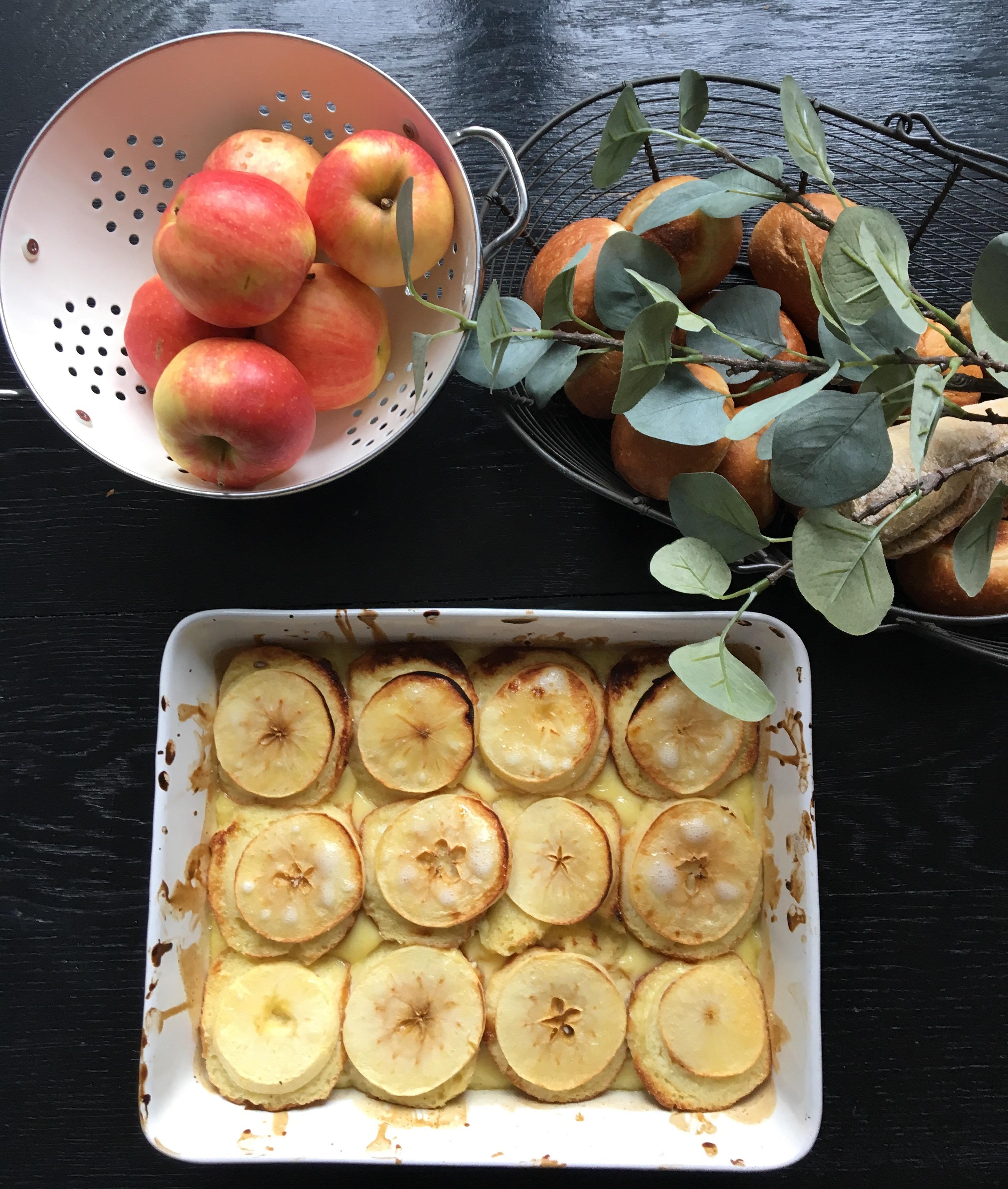 pain perdu aux pommes