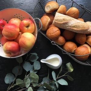 ingrédients pain perdu aux pommes