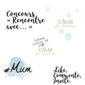 concours calm for dreamers