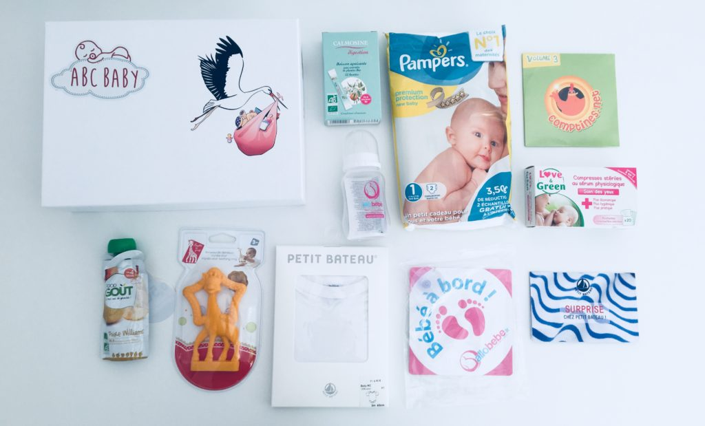 ABC Baby contenu de la box