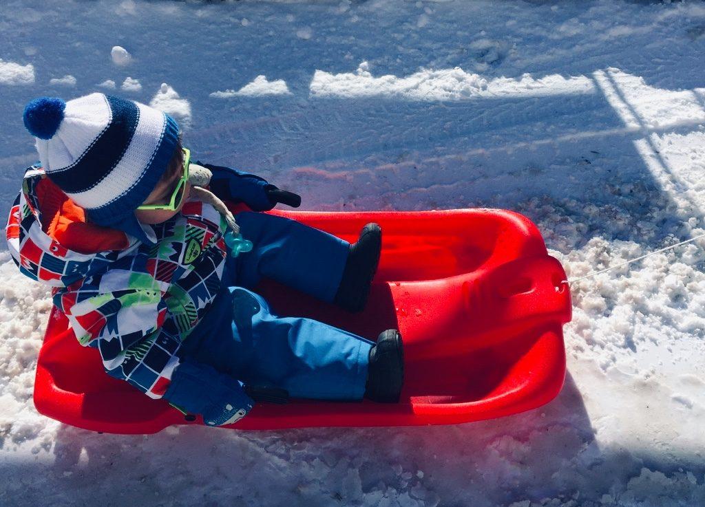 vacances de ski avec bébé