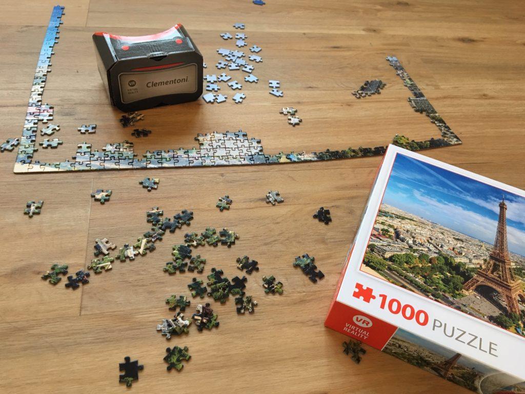 puzzleVR clementoni