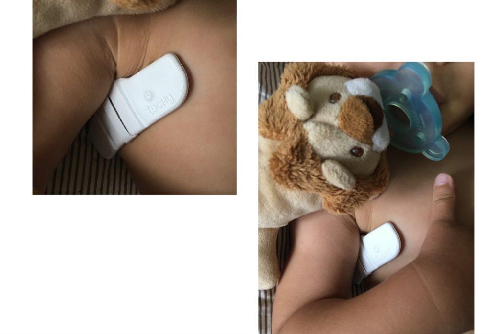 Thermomètre connecté bébé