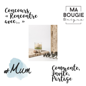 collage Ma bougie Unique