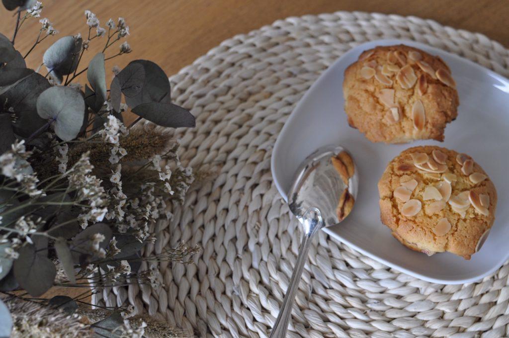 muffin rhubarbe framboise