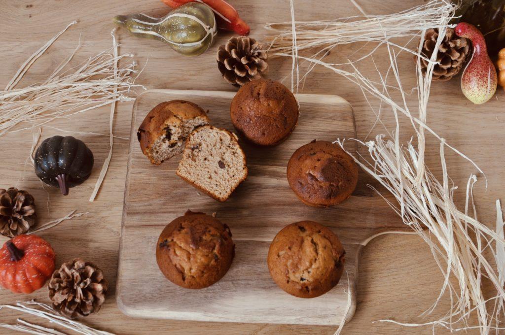 plateau muffins dautomne