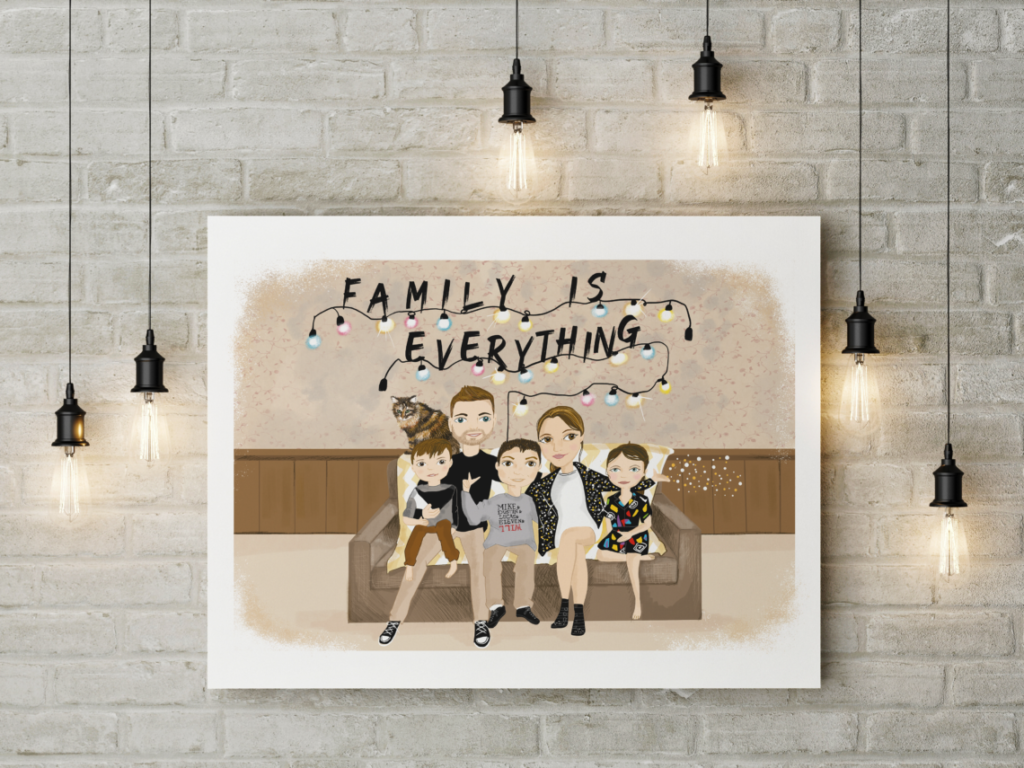 Studio mazarine portrait de famille