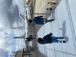terrasse Musée de l'Air et de l'Espace