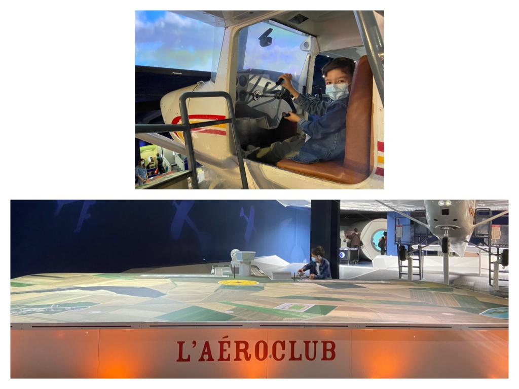 planète pilote Musée de l'Air et de l'Espace
